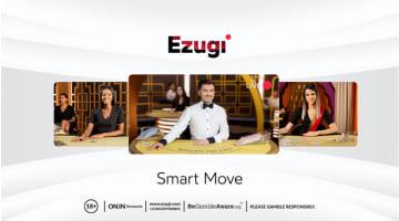 Ezugi Presents New Brand Identity Called Smart Move
