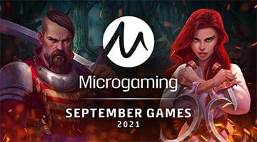 Microgaming September 2021 games